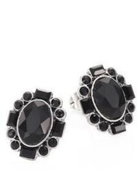 Marc Jacobs Jet Night Stud Earrings