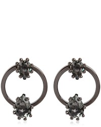 Dsquared2 Jeweled Hoop Earrings