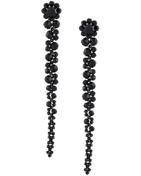 Simone Rocha Long Faceted Glass Earrings