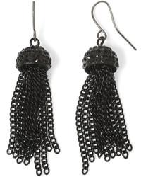 Mixit Mixit Drop Tassel Earrings