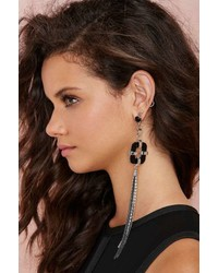 Nasty Gal Factory Leave Me Hanging Tassel Earrings