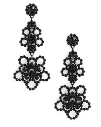 Kate Spade New York Crystal Lace Drop Earrings