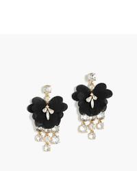 J.Crew Petal Crystal Earrings
