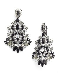 Givenchy Phoenix Drama Chandelier Earrings