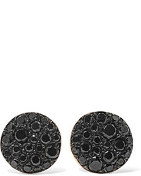 Pomellato Sabbia 18 Karat Rose Gold Diamond Earrings