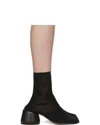 MM6 MAISON MARGIELA Black Thin Sock Boots