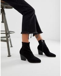 Public Desire Charlie Black Western Boots