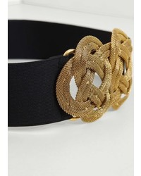 Mango Appliqu Elastic Belt