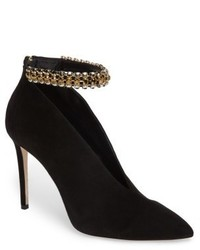 Jimmy Choo Lux Embellished Ankle Strap Bootie