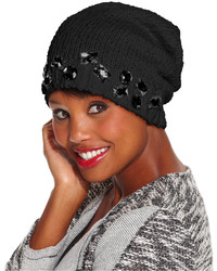 Collection XIIX Crystal Slouch Beanie