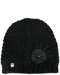Twin-Set Embellished Knitted Beanie