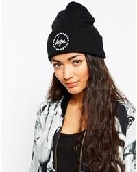 Hype Stars Logo Beanie Hat Black