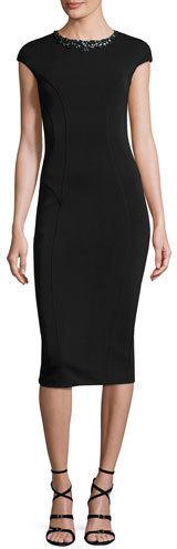 aba5ad7e29d3e ... Ted Baker London Dardee Embellished Bodycon Dress ...