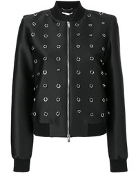Stella McCartney Loop Embellished Bomber Jacket