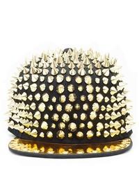 Soho Girl Majestic Spiked Snapback Gold