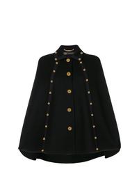 Versace Embellished Cape Coat
