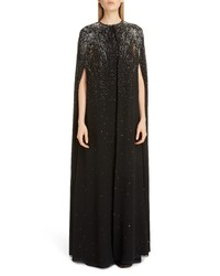 Givenchy Firework Embellished Silk Cape