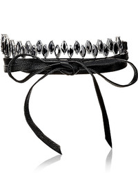 Fallon Monarch Jagged Edge Choker Black