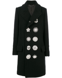 Givenchy Embellished Button Coat
