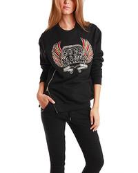 3.1 Phillip Lim Embroidered Sono Mama Crest Sweatshirt