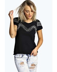 Willow embellished tshirt medium 235170