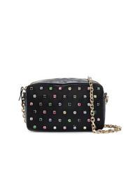 RED Valentino Crystal Embellished Shoulder Bag