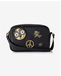 Express Patch Embellished Camera Bag