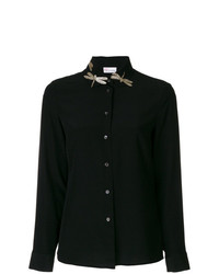 RED Valentino Dragonfly Embellished Shirt