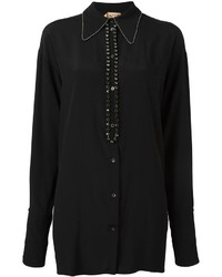 No.21 No21 Stone Embellished Shirt