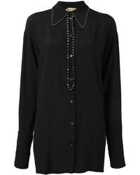 No.21 No21 Stone Embellished Shirt