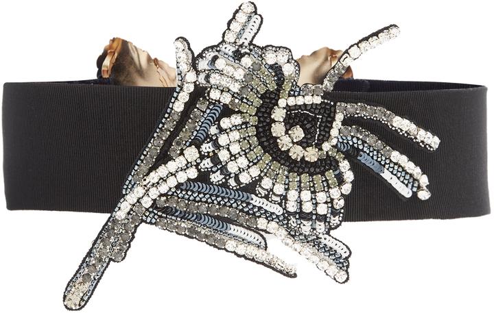 No.21 No 21 Crystal Embellished Waist Belt