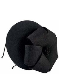 San Diego Hat Company Wool Felt Fascinator With Bow Drs3556