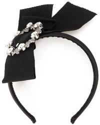 Dolce & Gabbana Embellished Bow Headband