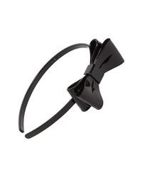 L. Erickson Ballet Bow Headband Black
