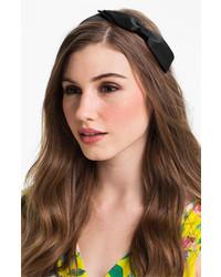 L. Erickson Bermuda Bow Headband Black