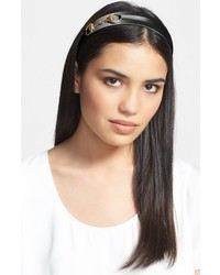 L. Erickson Bit Headband Black Gold
