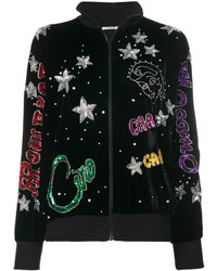 P.A.R.O.S.H. Embellished Zipped Up Jacket