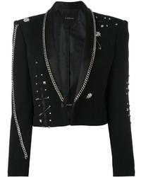 John Richmond Fortim Chain Embellished Jacket
