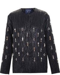 Lanvin Crystal Embellished Jacket