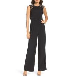 Embellished shoulder jumpsuit medium 5309332