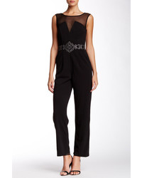 JS Collections Embellished Sleeveless Jumpsuit