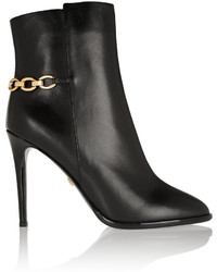 Diane von Furstenberg Beckett Leather Ankle Boots