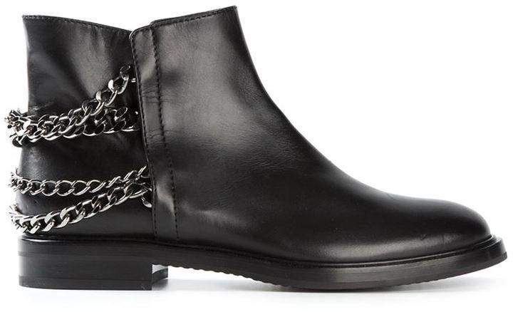 Casadei Chain embellished boots i9nCgMa2v