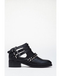 Forever 21 Chained Ankle Strap Booties