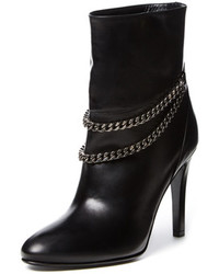 Debbie 100 Double Chain Leather Ankle Boot
