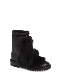 Jimmy Choo Glacie Genuine Shearling Bootie