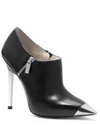 Michael Kors Michl Kors Zady Cap Toe Leather Ankle Boot