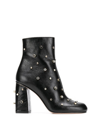 RED Valentino Red Embellished Booties