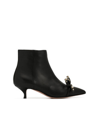 RED Valentino Red Pointed Toe Ankle Boots