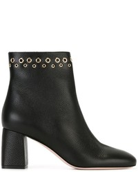 RED Valentino Eyelet Embellished Ankle Boots